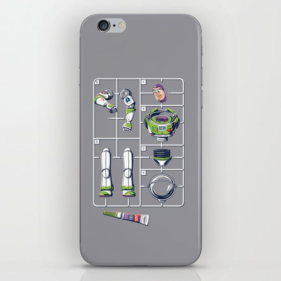 Supermodel iPhone & iPod Skin