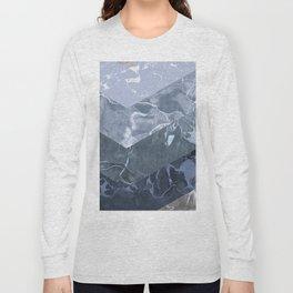 Isometric Marble Long Sleeve T-shirt