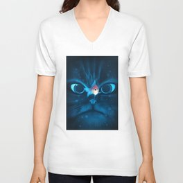 Cat Fish Unisex V-Neck
