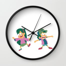 Mabel and Dipper Wall Clock