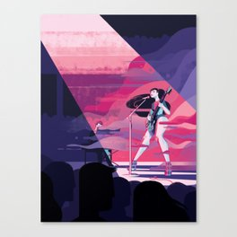 Haitus Kaiyote Canvas Print