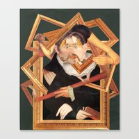frames Canvas Prints featuring frames by Karen Constance Collage and Paintings