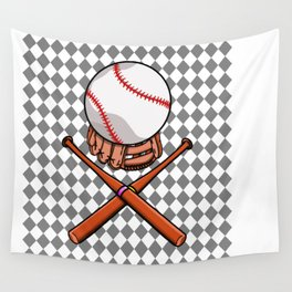 Baseball Wall Tapestry
