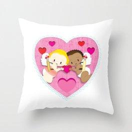 Cupid Love Throw Pillow