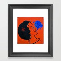 Riot Grrl Framed Art Print