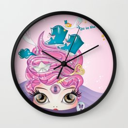 Toys in the attic Wall Clock