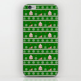 A Green Christmas iPhone Skin