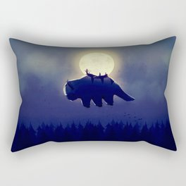 The End of All Things - Night Version Rectangular Pillow