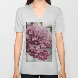 Spring Lilacs Unisex V-Neck