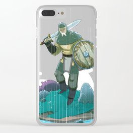 Knight Stuff part 3 Clear iPhone Case