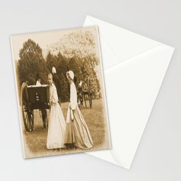 Strolling on the Battlefield Stationery Cards