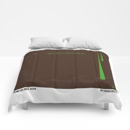 No004 My Alien minimal movie poster Comforters