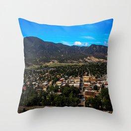 Salida Colorado Landscape  Throw Pillow