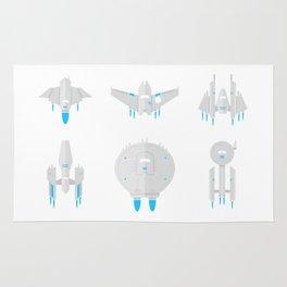 Future Space Planes Rug