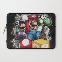 Mario et ses amis Laptop Sleeve