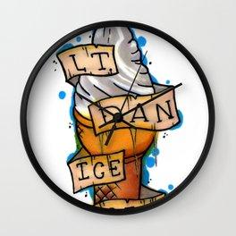 Lt. Dan Ice Cream! Wall Clock