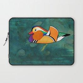 Mandarin Duck (Aix galericulata) Laptop Sleeve