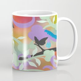 Black Butterflies Coffee Mug
