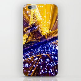 Supernova Eiffel iPhone Skin