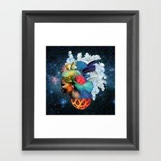 With the Eyes of Forever Framed Art Print