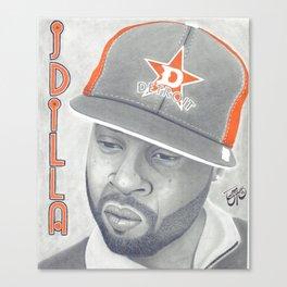 J Dilla R.I.P. Canvas Print