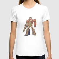 optimus prime T-shirts featuring Optimus Prime by colleencunha