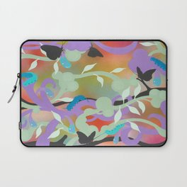 Black Butterflies Laptop Sleeve