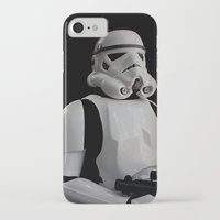 stormtrooper iPhone & iPod Cases featuring Stormtrooper by Pixel Villain