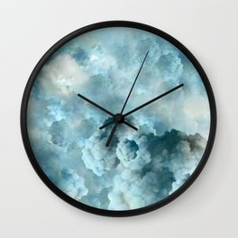 """Cotton clouds Sky"" Wall Clock"