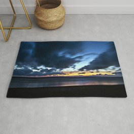 Nocturnal Cloud Spectacle on Danish Sky Rug