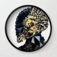 daft punk Wall Clocks featuring Daft Punk by El Felo
