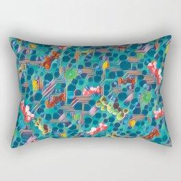 Fungal Spawn. Rectangular Pillow