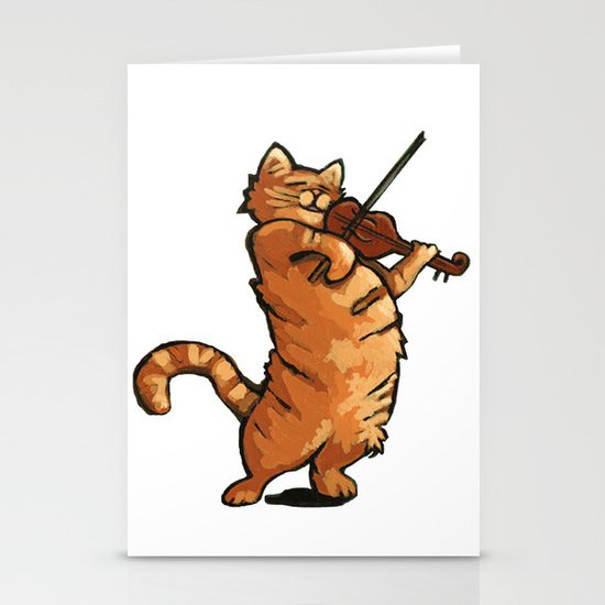 Fat Rascal Stationery Cards