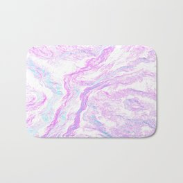 Abstract liquid Bath Mat