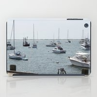 boats iPad Cases featuring Boats by Kim Hawley