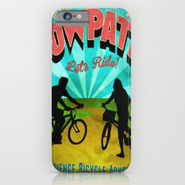 Canal Fulton Massillon Navarre Towpath Bicycle Adventure iPhone Case