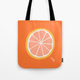 Grapefruit Slice Tote Bag