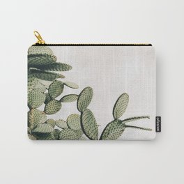 Cactus on blue sky #society6 #decor #buyart Carry-All Pouch