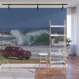 Newport Beach Lifeguard Truck Wall Mural