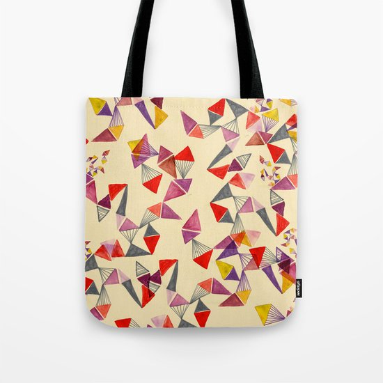 watercolour geometric shapes Tote Bag