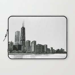 And the Embers Never Fade - Original Drawing Laptop Sleeve