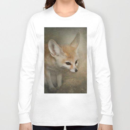 Little Fennec Fox Long Sleeve T-shirt