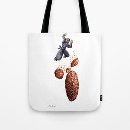 Fritter Jitsu the Deadly Art of Throwing Fruity Pastries Tote Bag