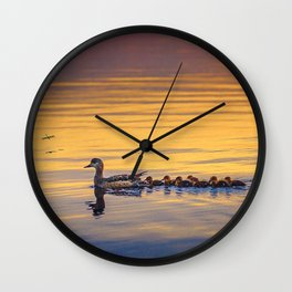 Adorable family Wall Clock