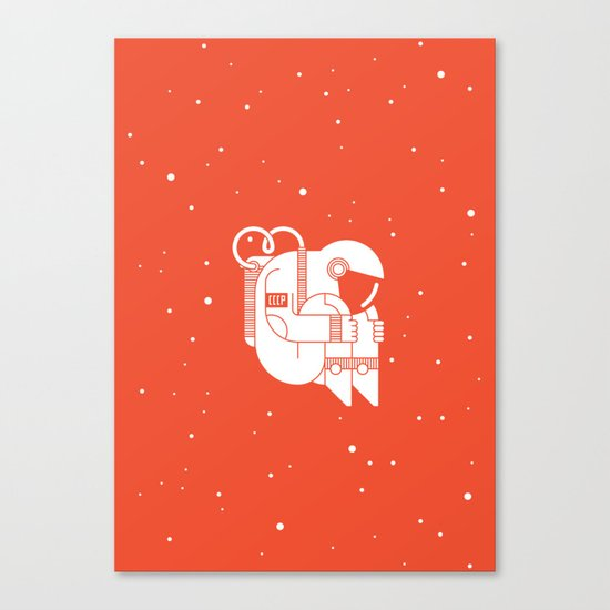 The Cosmonaut Canvas Print
