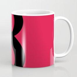 8 (BLACK & CRIMSON NUMBERS) Coffee Mug