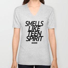 Smells Like Teen Spirit #black Unisex V-Neck