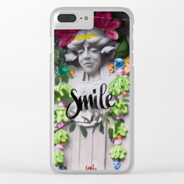 Smile - Cara Dura Proyect Clear iPhone Case