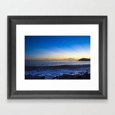 Sunrise: Manly Framed Art Print