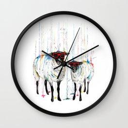 It's Raining Wall Clock